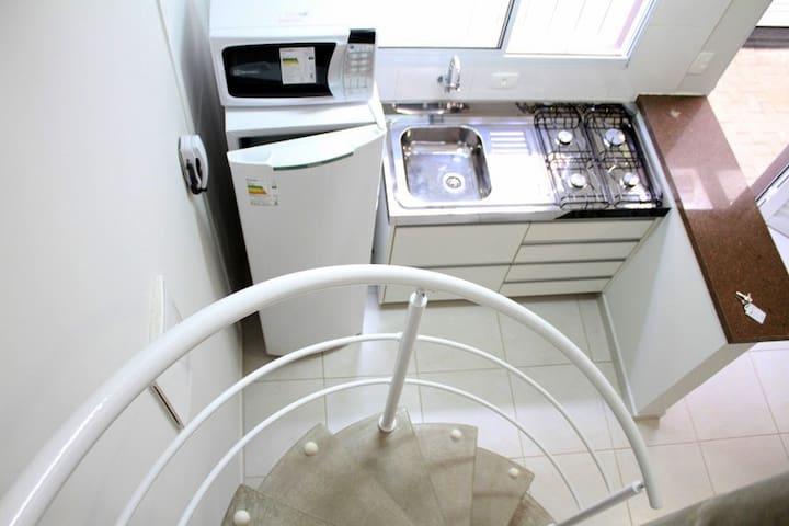 Loft com ar condicionado em Barão Geraldo!