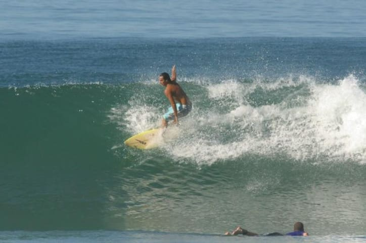 Sun and surfing