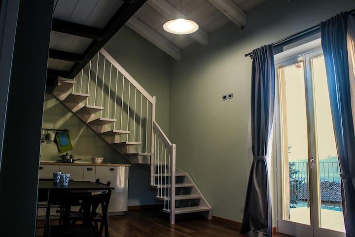 Ca dei Currà: Appartamentino su due livelli