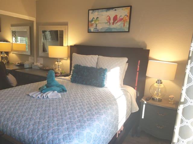 Clean and quiet Delta room #2  quality mattress!!!