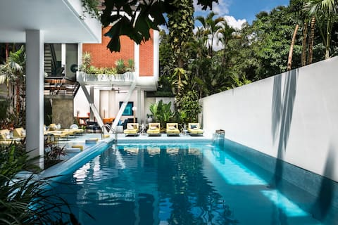 Private Villa with Pool in the Center of Siem Reap