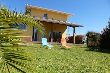Ch.privative dans une villa à proximité de l'océan - Ondres - Haus