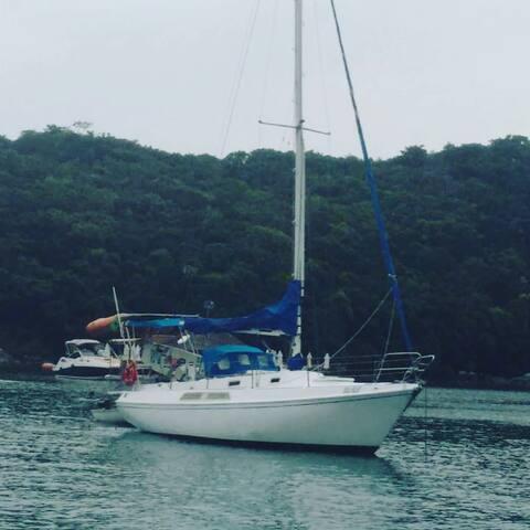 Hospedagem naútica  veleiro Billi Blue