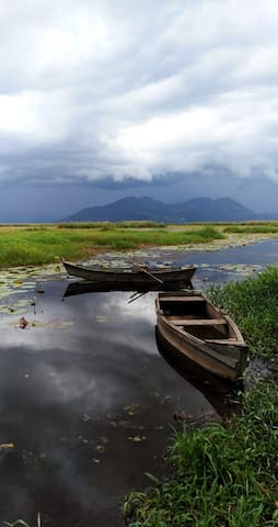 Casa frente al Lago de Yojoa