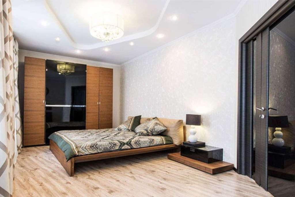 Here You can find 2 double bedrooms for Your accommodation!