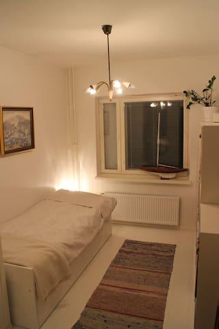 Cosy scandinavian bedroom in oceanic Lauttasaari - Helsinki - Appartement