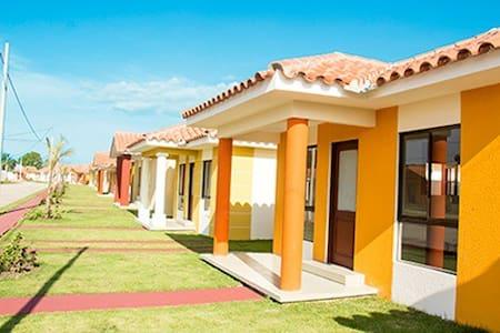 Habitación acogedora en condominio cerrado