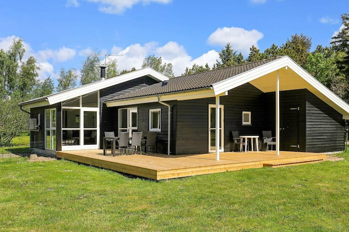 Large Holiday Home in Strandby Denmark with Whirlpool