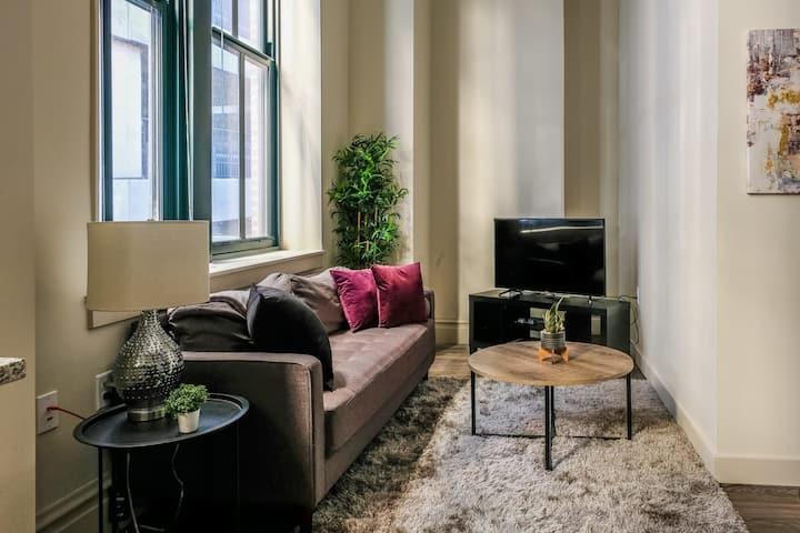 2BR Apt in the Heart of the City