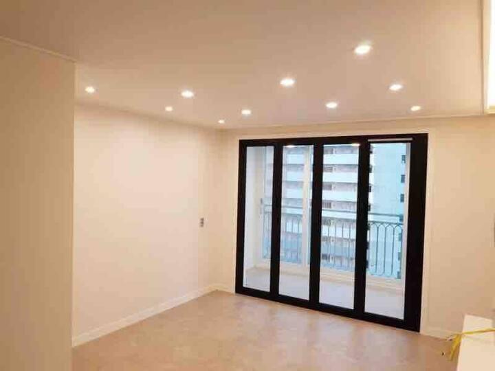 (아파트, 방3개, 거실)신천동 리버사이드 코지 하우스/동대구역, 신천역, 삼덕동 인근