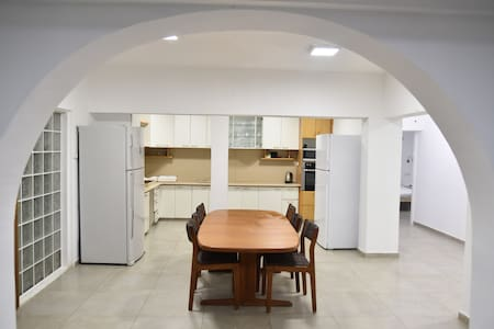 Mansion Don Leon 5 rooms- Kitchen - Even Menachem - Casa de campo