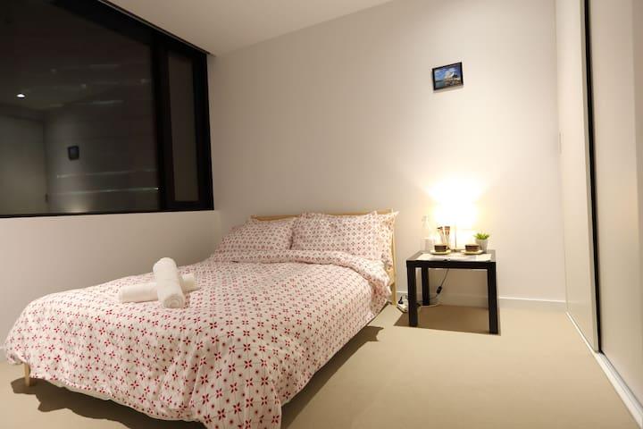 Lovely Cozy Private room in Melbourne CBD - Melbourne - Apartamento
