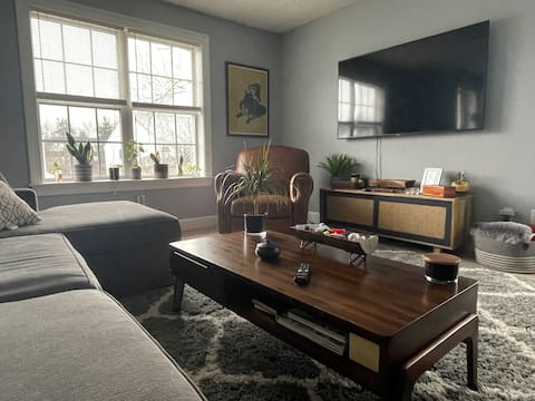 Experience  relaxing vibes in this homey 1 bedroom