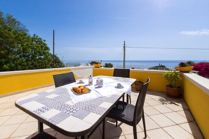Salento House - Splendid sea view - Marina di Andrano - Casa