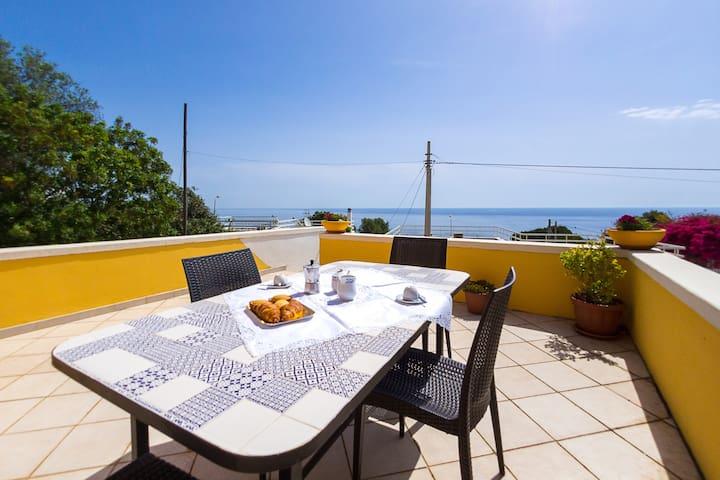 Salento House - Splendid sea view - Marina di Andrano