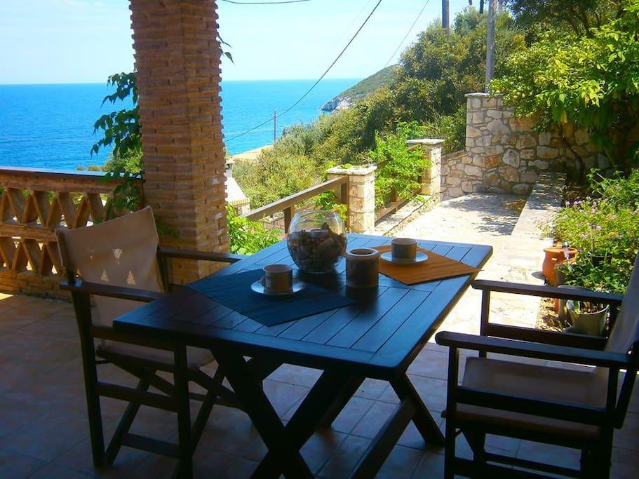 Villa mare studio case in affitto a zakinthos for Case in affitto grecia sul mare