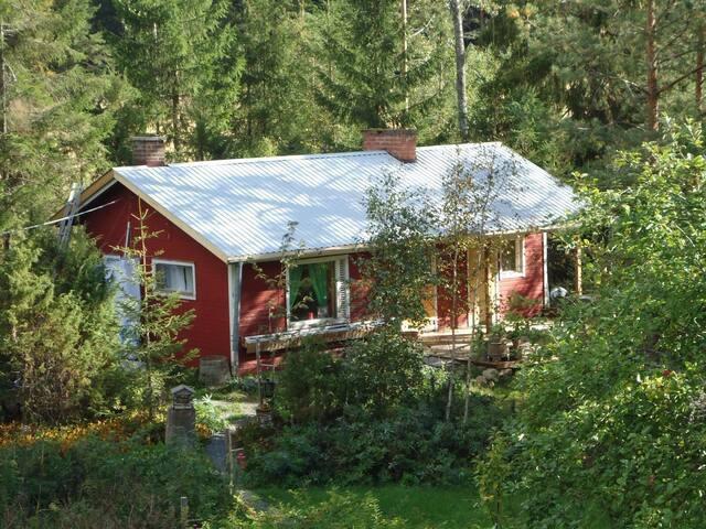 Ferienhaus - Mökki mit Sauna direkt am See in Mouhijärvi-Sastamala