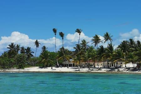 Exclusiva Habitación en Isla Saona frente al mar