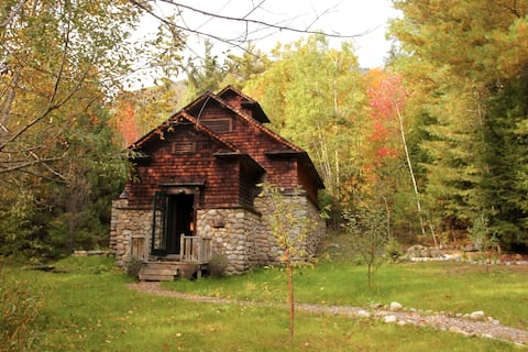Historic Icehouse in 980 Acres Private Wilderness
