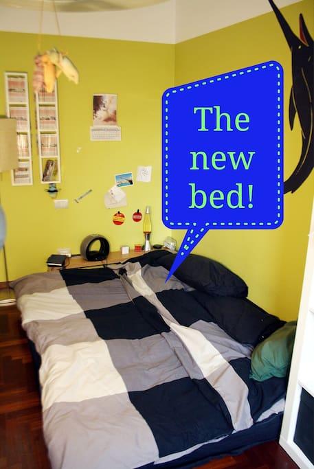 Camera con letto 1 piazza 1/2 Double bed room