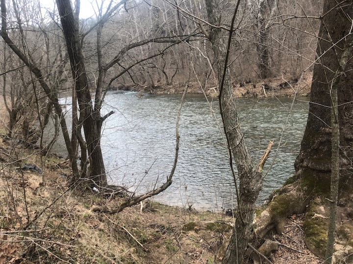 On Buffalo Creek: Swim/Fish/Cook/Play Pool/Enjoy!