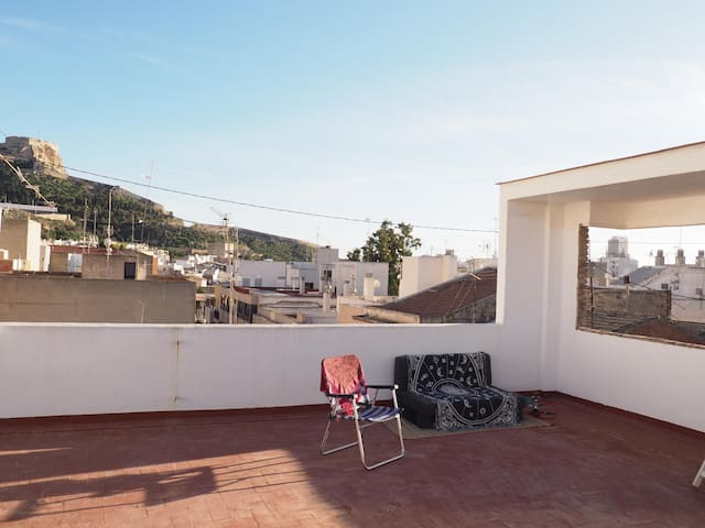 Tu Casa en Alicante a 10 min andando del centro