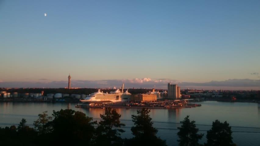 Wonderful view over Stockholm - Lidingö - Wohnung
