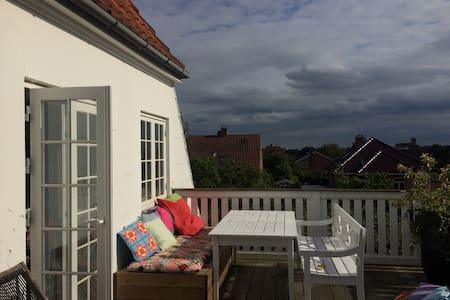 Have og 2 terrasser 14 min fra City - Hellerup - Villa