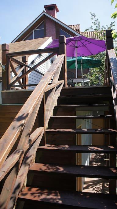 觀景台樓梯