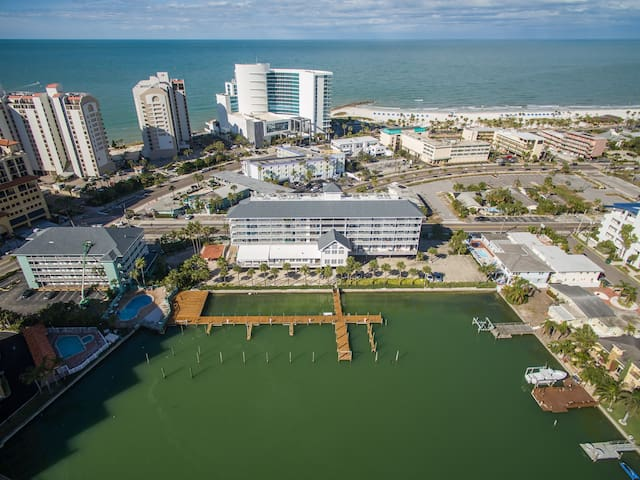 Walk anywhere - you're in the heart of Clearwater Beach