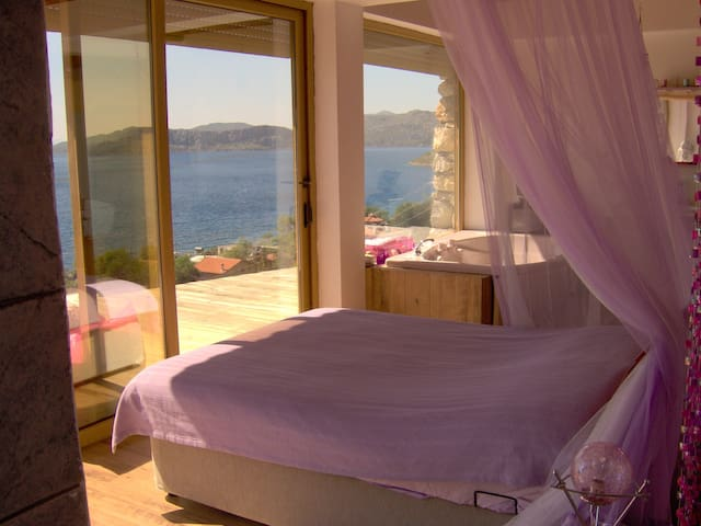 Enchanted Seaview Villa in Sogut/Marmaris