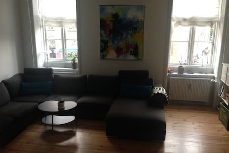 8 beds on lovely Frederiksberg