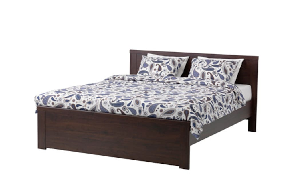 This is the new bed that will be in the room for July 2015 onwards.