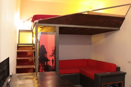 Rouge et Noir mini loft in via di monserrato - Rom