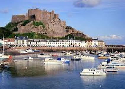 Beautiful Gorey village, Jersey - Gorey