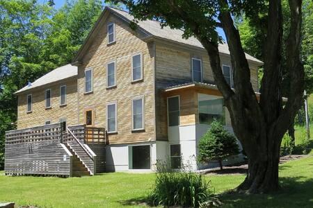 Historic Farmhouse  300+acres. 1 Gbps internet