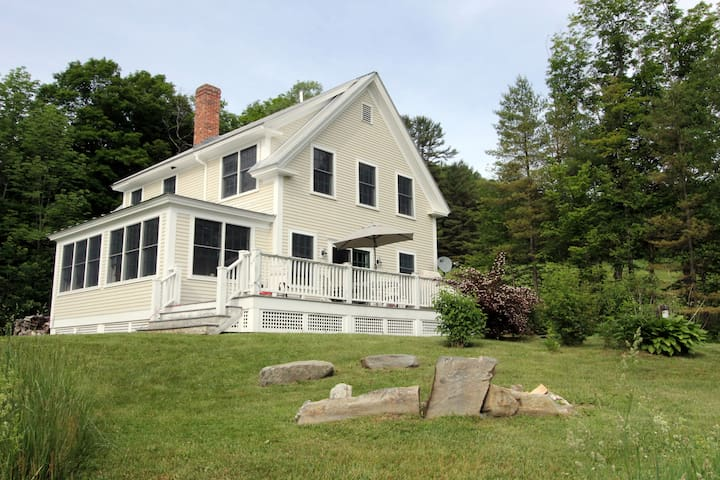 4BD in Vermont Valley - Barnard - House