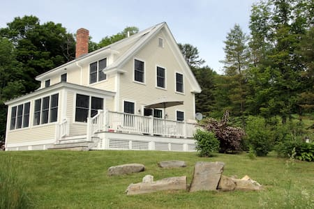 4BD in Vermont Valley - Barnard - Ház