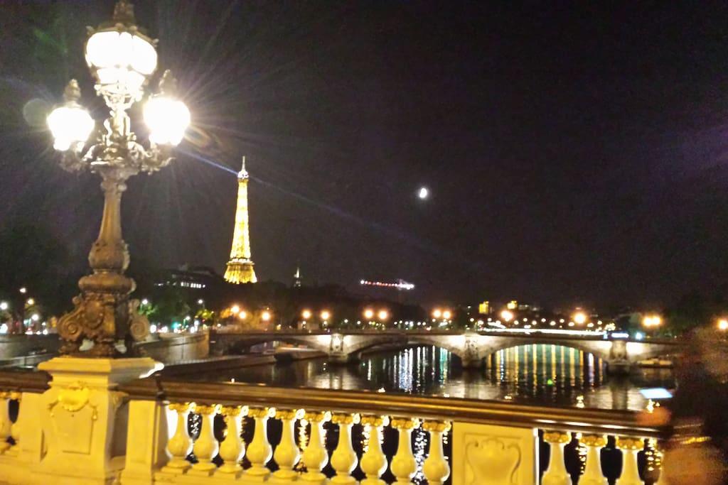 Localisation idéale à 10mn de la Tour Eiffel