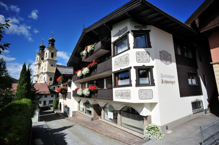 Ferienhaus Schwaiger - Appartement Hopfgarten - Hopfgarten im Brixental - Apartamento