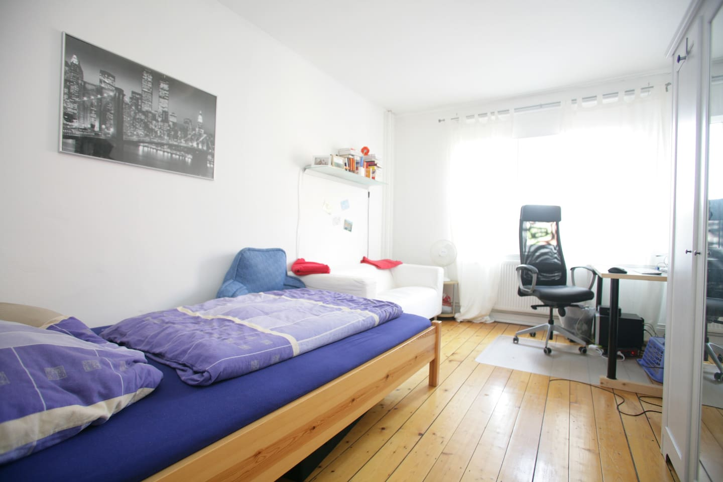 Most central located room for two