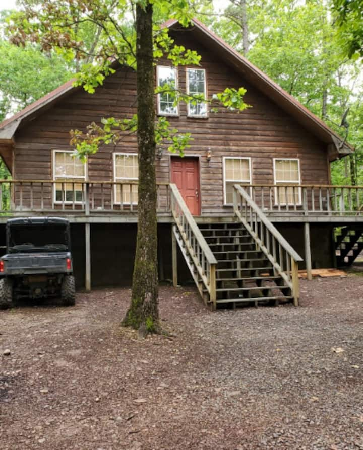 Serene Cabin on 4 Wooded Acres..Walk To Water!