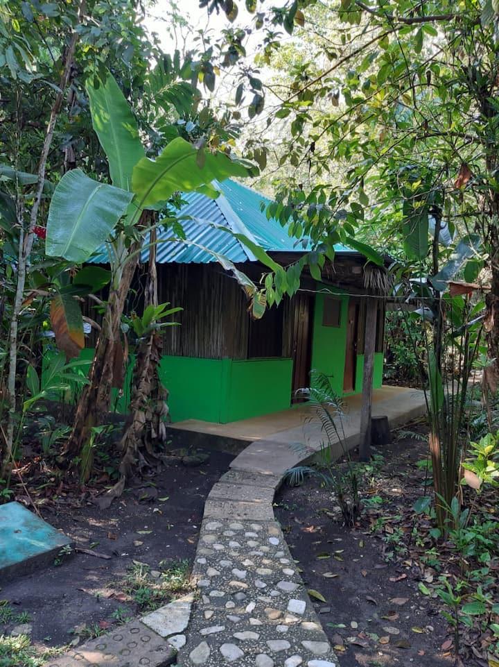Cabaña Standar con 1 Cama Matrimonial (2 personas)