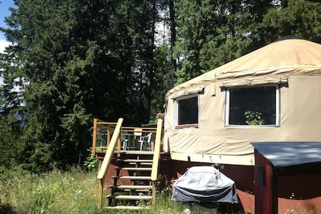 Lakeview Yurt by Kokanee Park - Nelson - Jurta