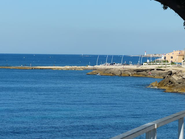 Provence 5 people 350m to sea side - Sausset-les-Pins - Talo