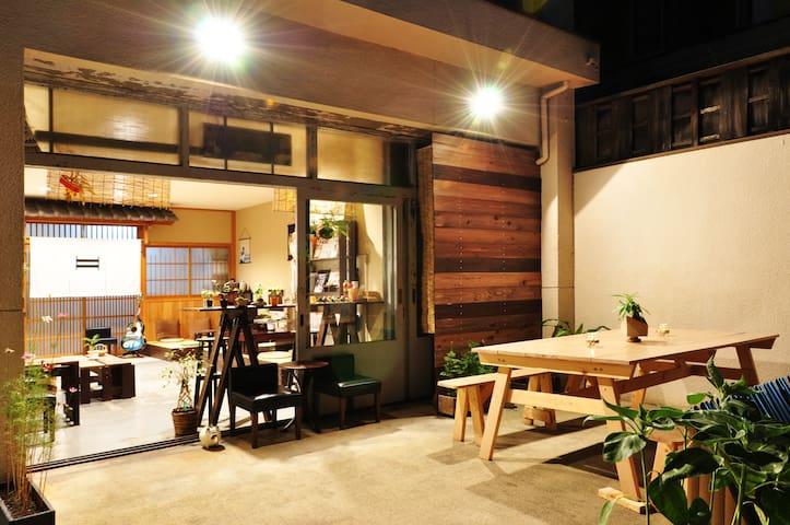 (C)【SUZUKI GUESTHOUSE】5min Nijo-castle! Mixe dorm.
