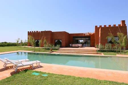 Riad FASKA - Oliveraie du SOLEIL - Marrakech