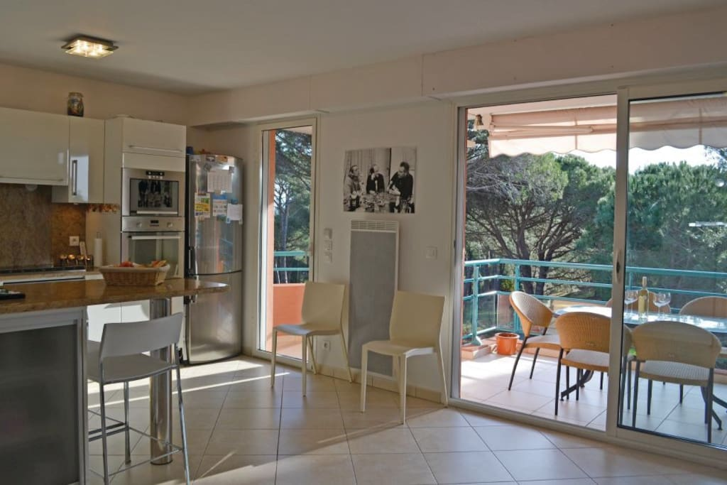 Appartement 2 chambres avec terrasse