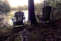 Tranquility on Stoney Lake cove