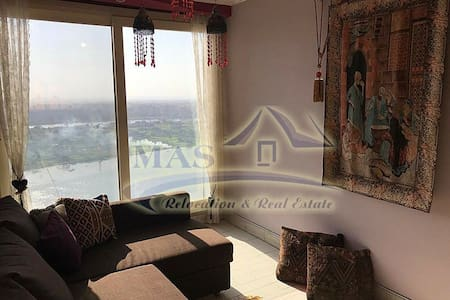 Flat in Maadi Corneish 27th floor with Nile View